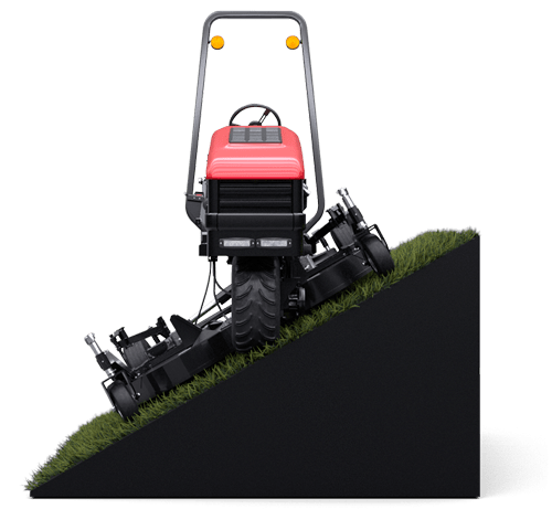 A rendering of a Harper Turf ATM 72 Slope Mower
