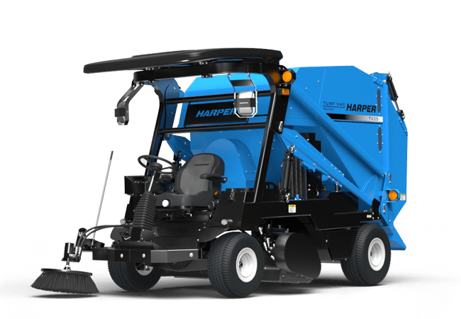 A rendering of a Harper Turf TV35 Turf Vac