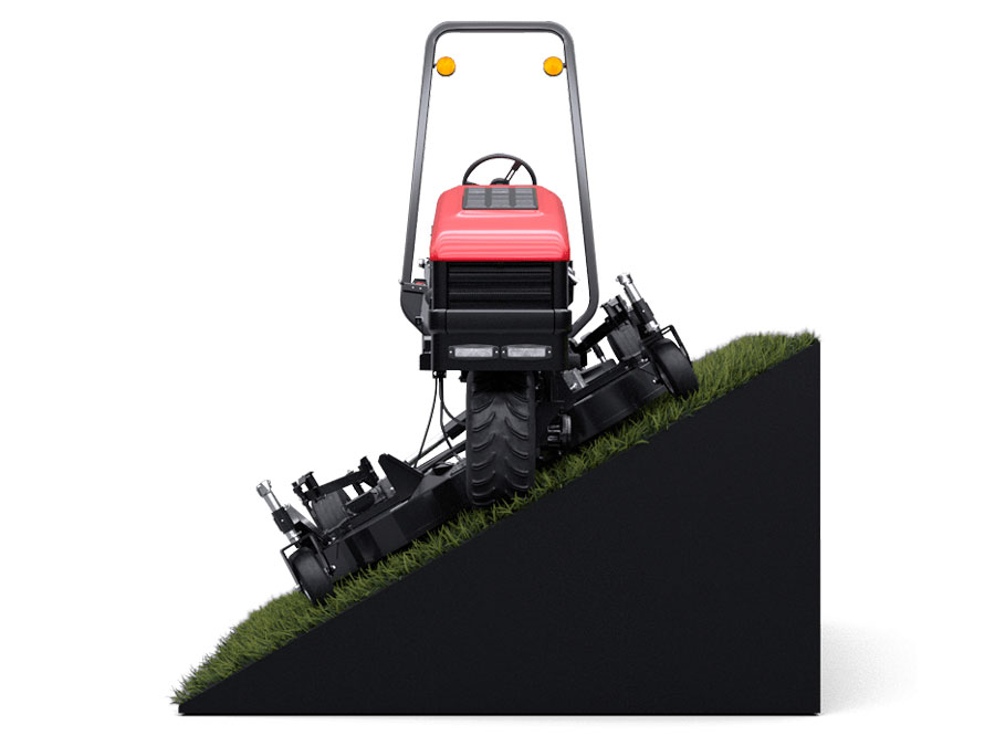 ATM 72 34 degree mowing angle