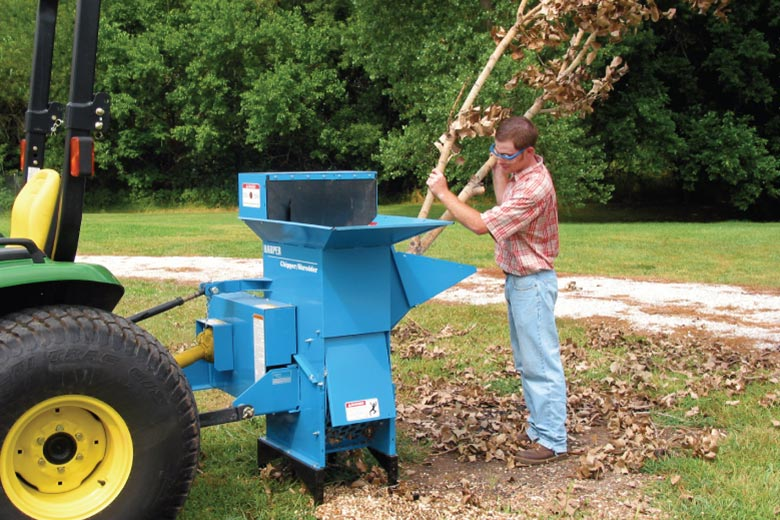 Harper Turf Chipper Shredder
