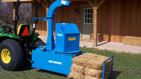 Harper Turf Top Feed Straw Blower