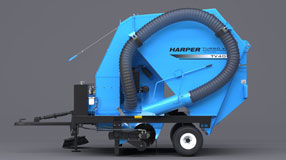 Harper Turf TV40 Turf Vac/Sweeper