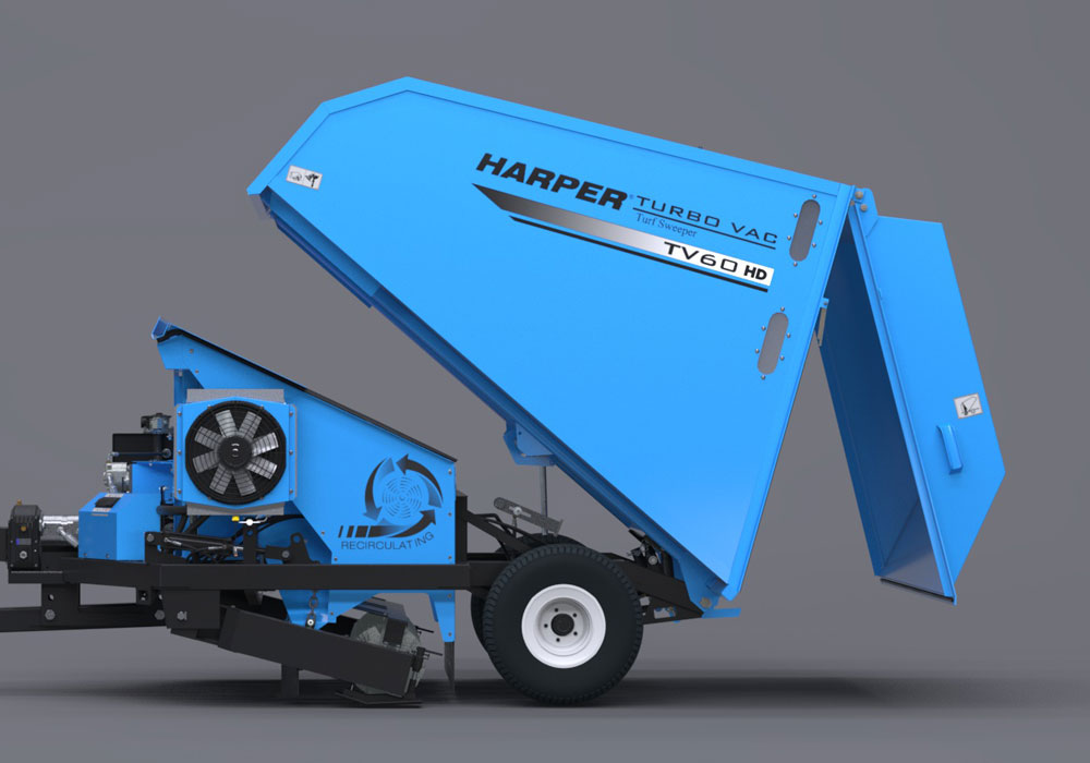 TV60RE large hopper